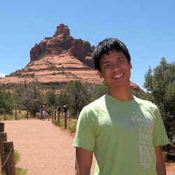Photo of Anh at Sedona, AZ